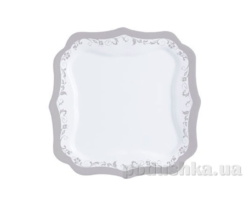 Тарелка обеденная Luminarc Authentic Silver H8381