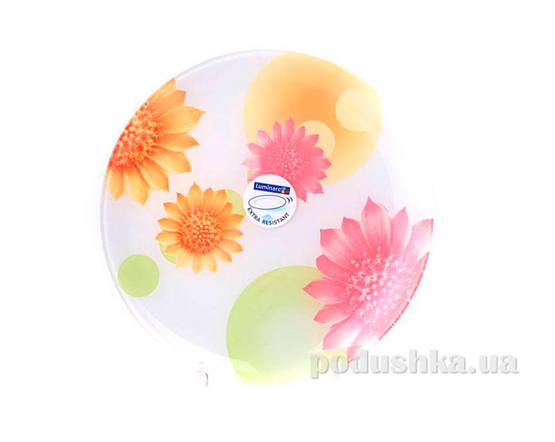 Тарелка обеденная Luminarc Flowers Dream Orange G1124