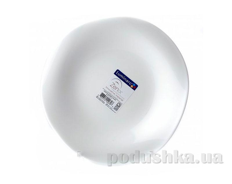 Тарелка обеденная Luminarc Volare White E9171