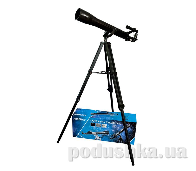Телескоп Arsenal Land & Sky 70/700 AZ2 рефрактор деревянный штатив