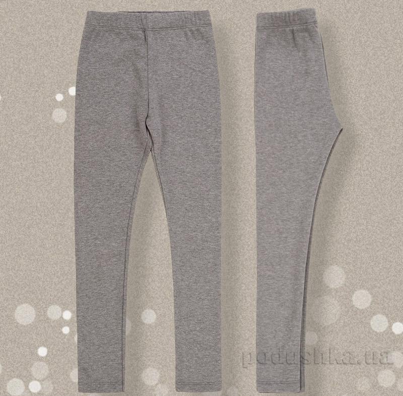 Теплые штаны для девочки Bembi ШР-389 шардон-интерлок