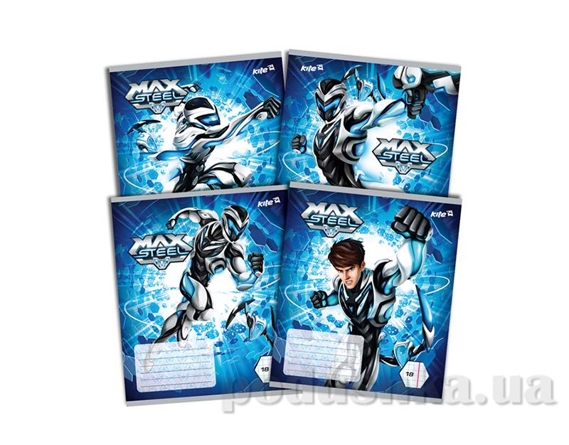 Тетрадь в клетку Kite Max Steel MX14-236K