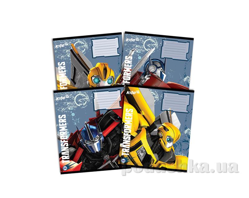 Тетрадь в клетку Kite Transformers TF14-238K