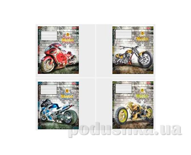 Тетрадь в клетку Мотоцикл Мечты сбываются ТА5.4811.1764