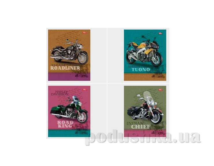Тетрадь в клетку Мотоциклы Мечты сбываются ТА5.4811.1664