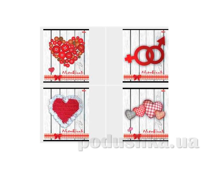 Тетрадь в клетку Сердечки Мечты сбываются TA5.6011.1703