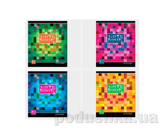Тетрадь в клетку Цветные квадраты Мечты сбываются TA5.6011.1717