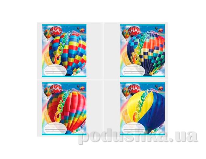 Тетрадь в клетку Воздушный шар Мечты сбываются TA5.6011.1718