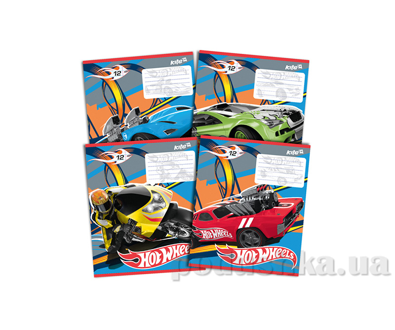 Тетрадь в линию Kite Hot Wheels HW14-234K