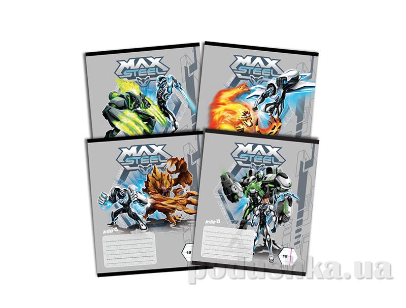 Тетрадь в линию Kite Max Steel MX14-237K