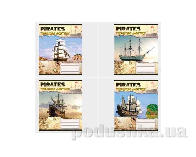 Тетрадь в линию Корабли пиратов Мечты сбываются ТА5.2421.1711