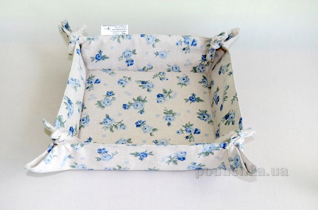 Тканевая хлебница Прованс Blue rose