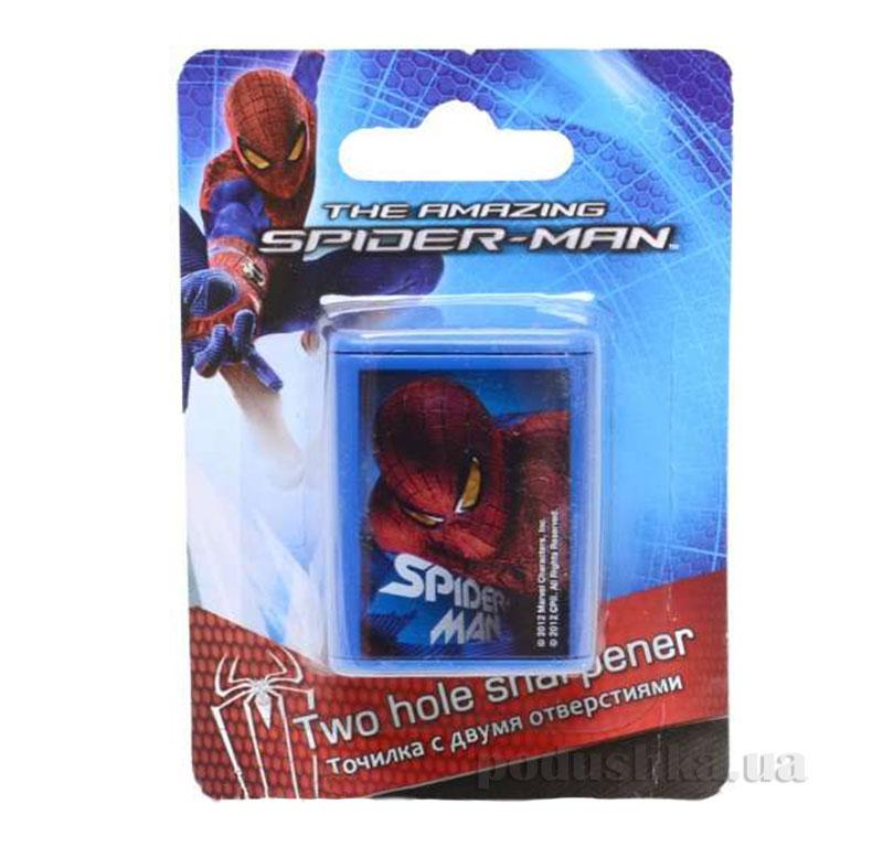 Точилка с двумя отверстиями Spider-man SM4U-12S-221-BL1