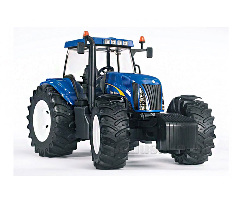 Трактор Bruder New Holland T8040 синий