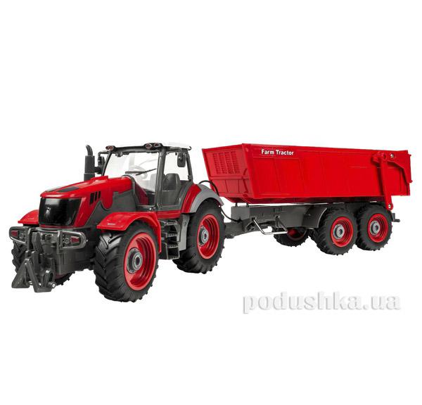 Трактор радиоуправляемый 1:28 Farm Tractor с прицепом Rui Chuang QY-8302B