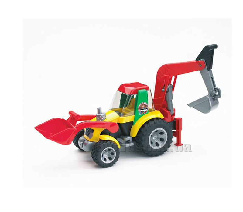 Трактор-экскаватор с погрузчиком серия Roadmax Bruder