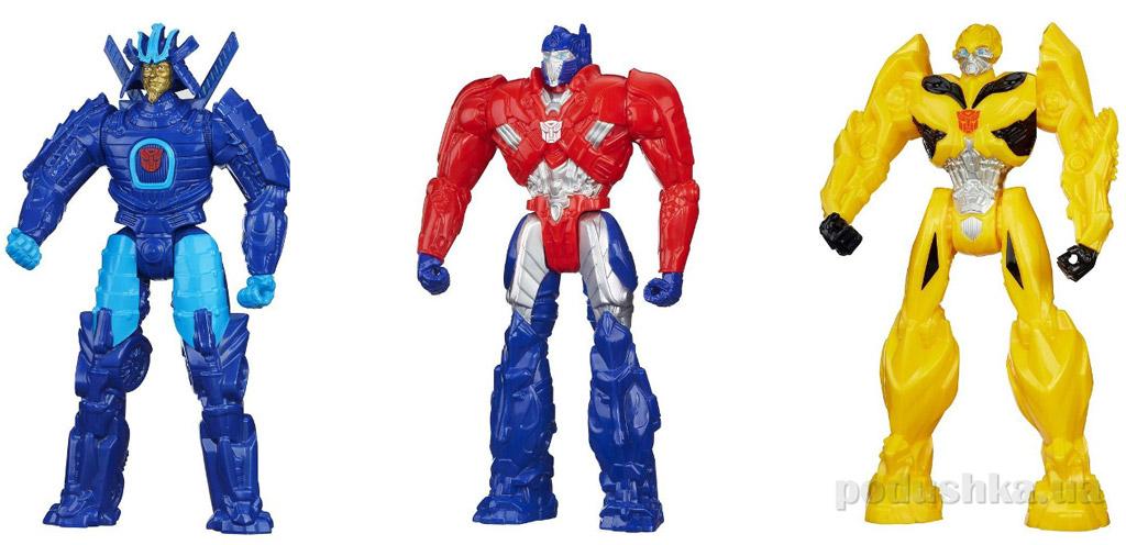 Трансформеры 4 Титаны в ассортименте 3 вида Hasbro A6550