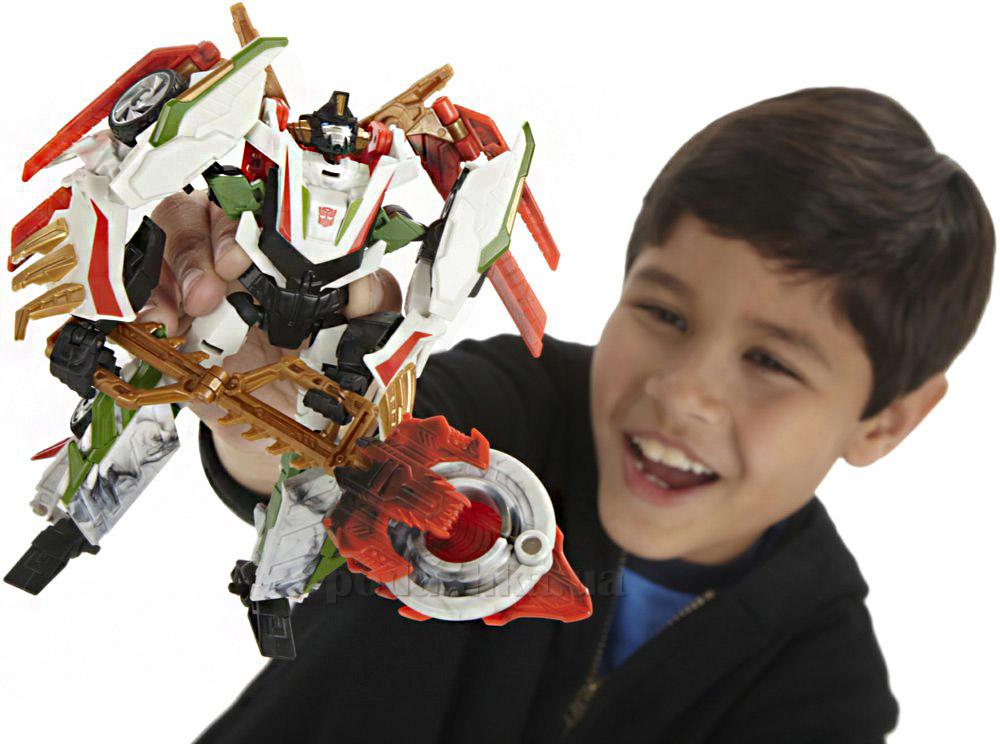 Трансформеры Прайм Охотники за чудовищем Делюкс Hasbro A1518