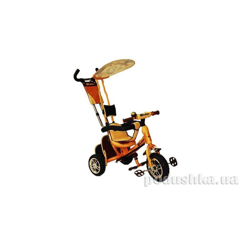 Трехколесный велосипед Azimut BC-15 An Safari Оранжевый Лев