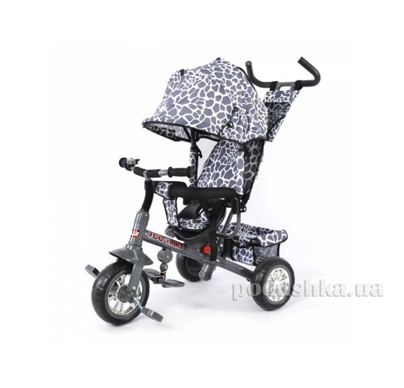 Трехколесный велосипед Baby Tilly Zoo-Trike BT-CT-0005 Grey