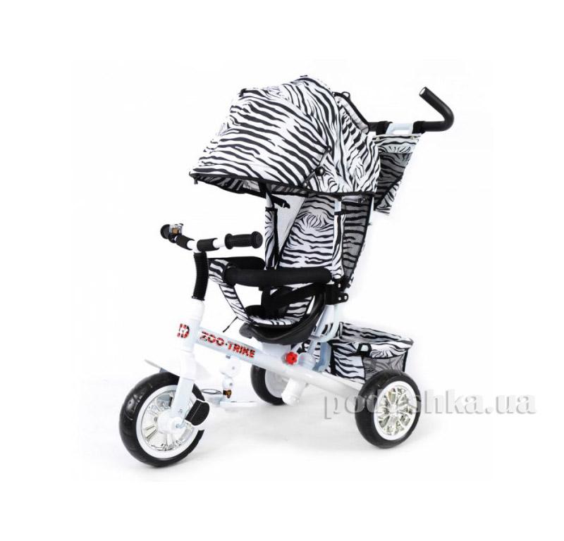 Трехколесный велосипед Baby Tilly Zoo-Trike BT-CT-0005 White