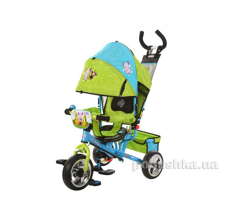 Трехколесный велосипед Profi Лунтик LT 0066-01