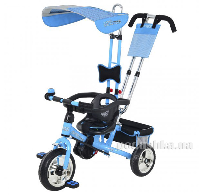 Трехколесный велосипед Profi Trike M0450-2 Eva Foam Голубой