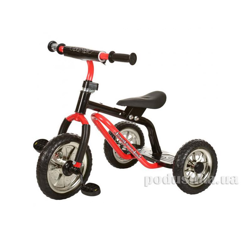 Трехколесный велосипед Profi Trike M 0688-2 Красно-черный