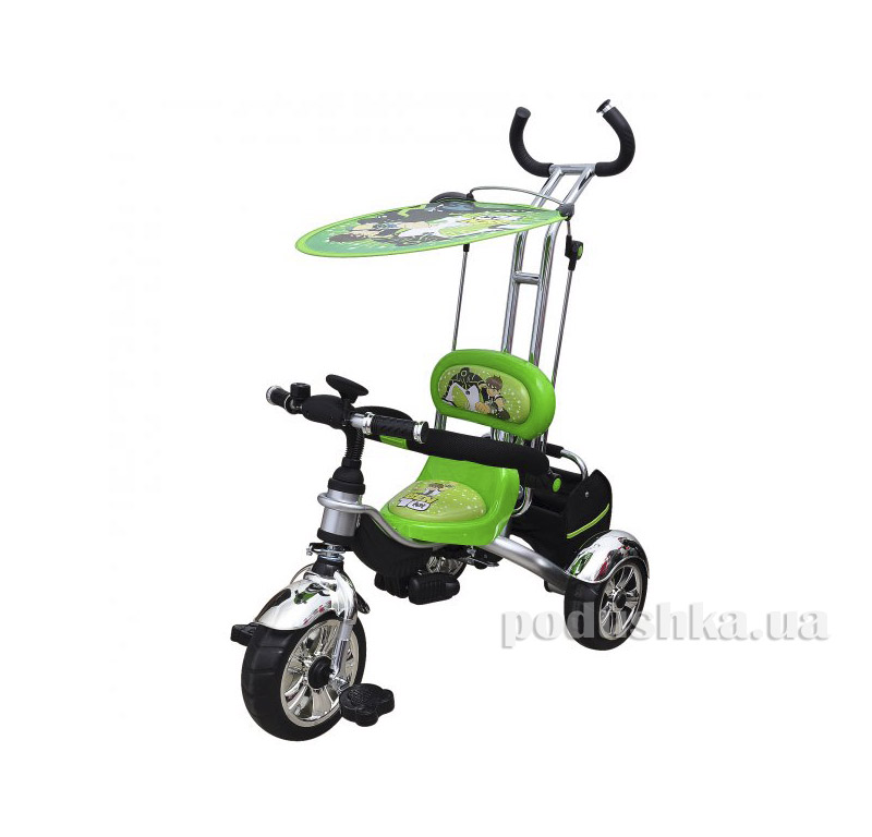 Трехколесный велосипед Profi Trike M 5342 Eva Foam Ben 10