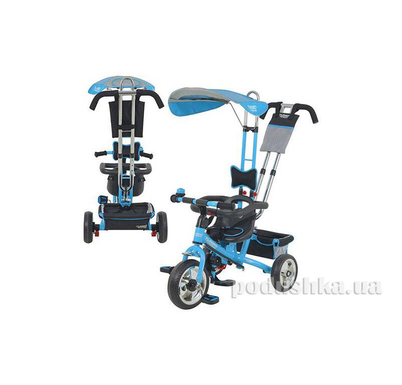 Трехколесный велосипед Profi Trike M 5362-2 EVA Foam Бирюзовый