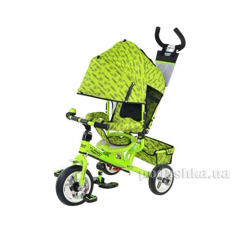Трехколесный велосипед Profi Trike М 5363-2-3 Eva Foam Зеленый