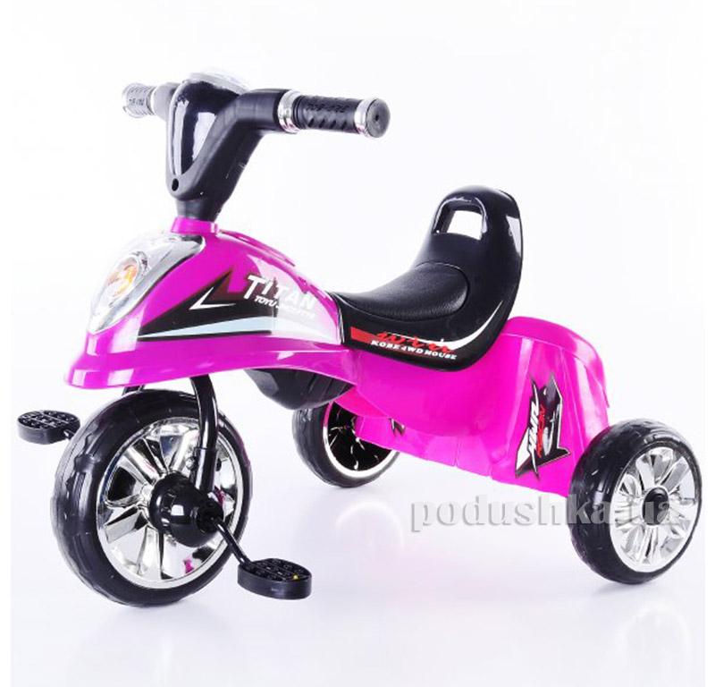 Трехколесный велосипед Profi Trike Titan M5347 Розовый