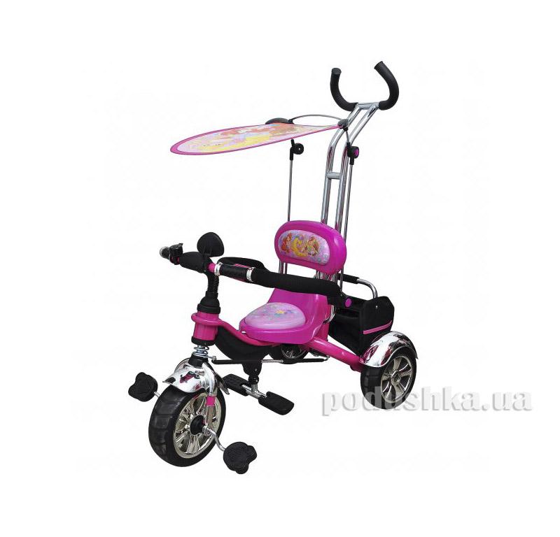 Трехколесный велосипед розовый Profi Trike M 5339 Eva Foam WinX