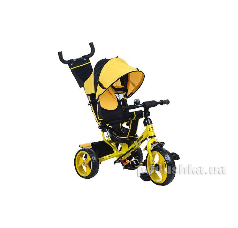 Трехколесный велосипед Turbo Trike M 3113-1 Желтый