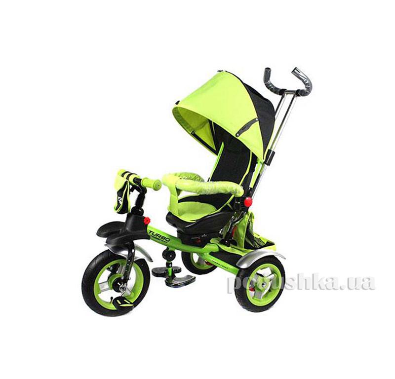 Трехколесный велосипед Turbo Trike M 3124-1A Зеленый