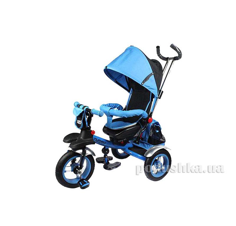 Трехколесный велосипед Turbo Trike M 3124-2A Голубой