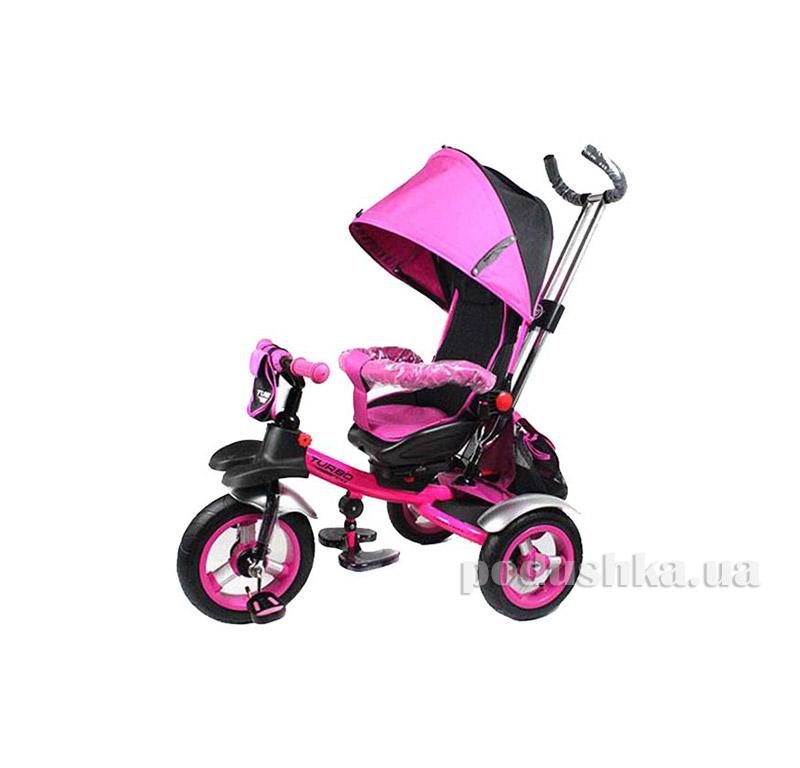 Трехколесный велосипед Turbo Trike M 3124-3A Розовый