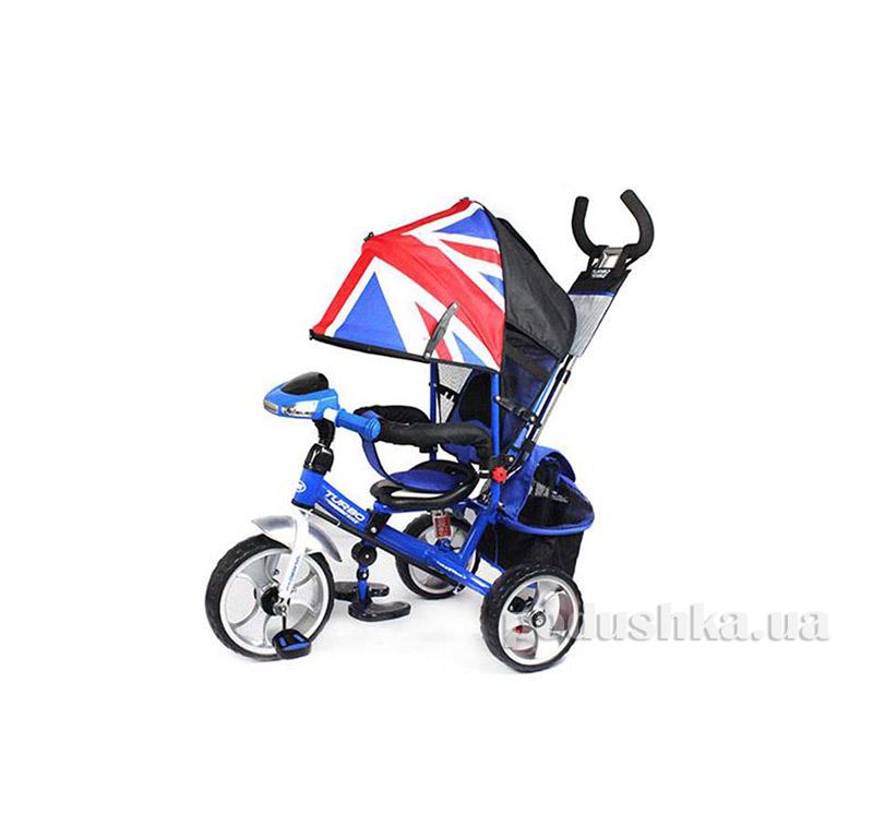 Трехколесный велосипед Turbo Trike M 3125-1H Синий