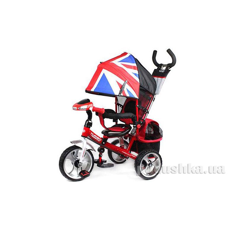 Трехколесный велосипед Turbo Trike M 3125-2H Красный