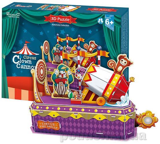 Трехмерная головоломка-конструктор CubicFun Цирк - Клоун-трюкач