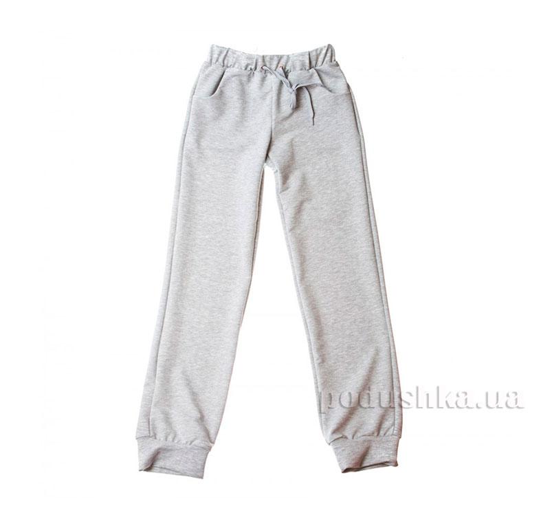Трикотажные спортивные брюки Kids Couture серые