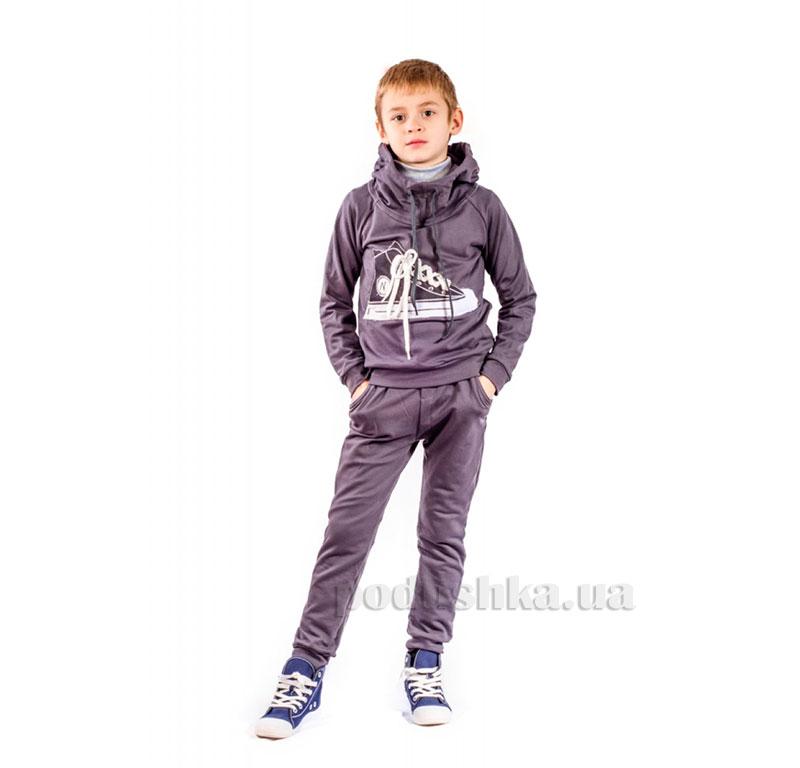 Трикотажный спортивный костюм Кед Kids Couture графит