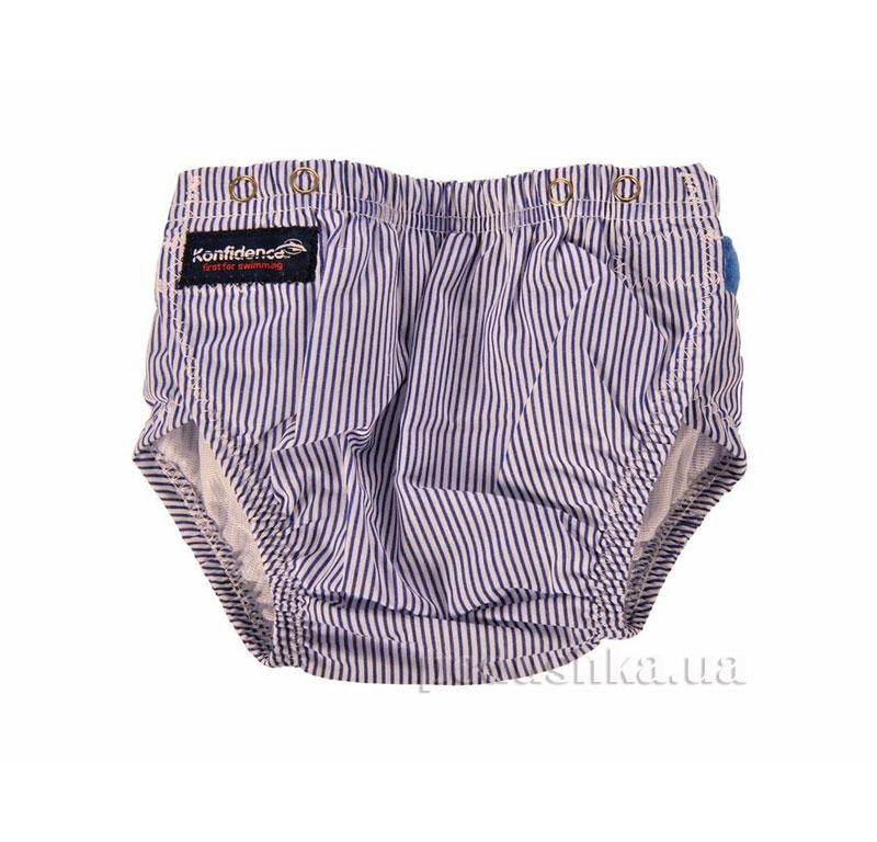 Трусики для плавания Konfidence Aquanappies Blue Stripe OSSN03