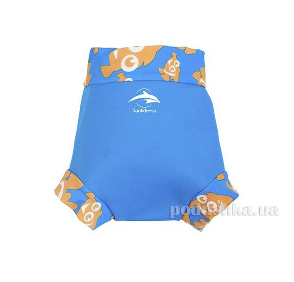 Трусики для плавания Konfidence NeoNappy Cyan/ Clownfish S NN141-06