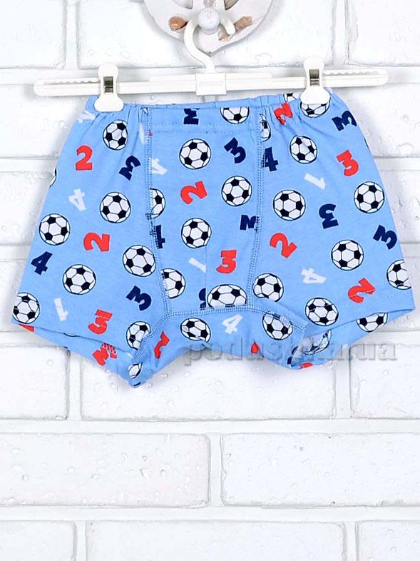 Трусы-шорты Татошка 11636 голубые принт футбол