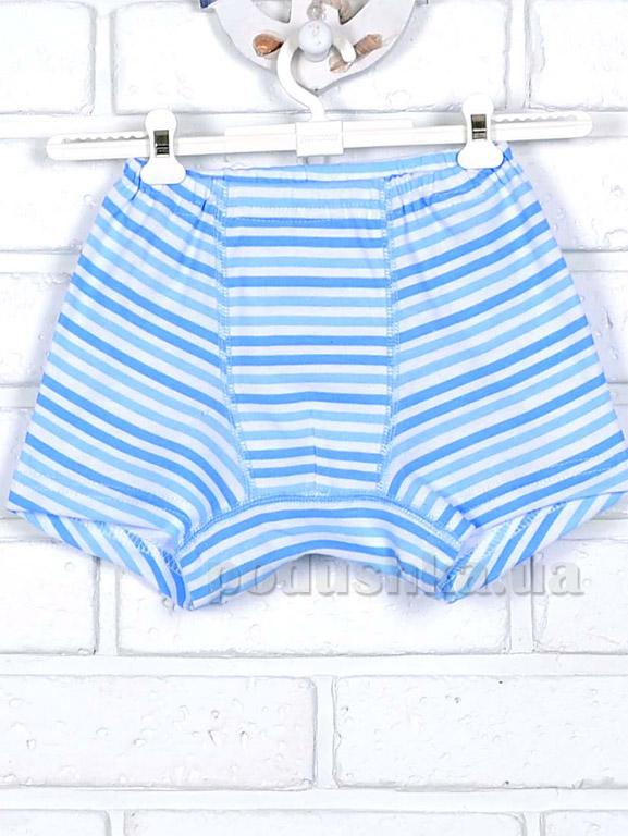 Трусы-шорты Татошка 11636 в голубую полоску