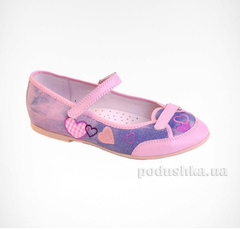 Туфли для девочек Flamingo JT31611