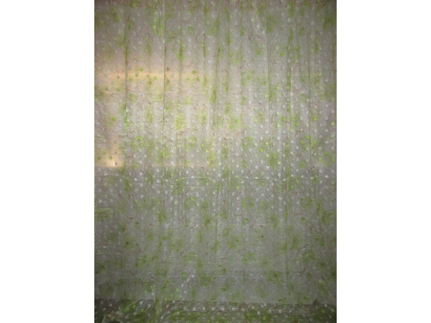 Тюль Органза Arya 25054 с вышивкой V01 K3025054