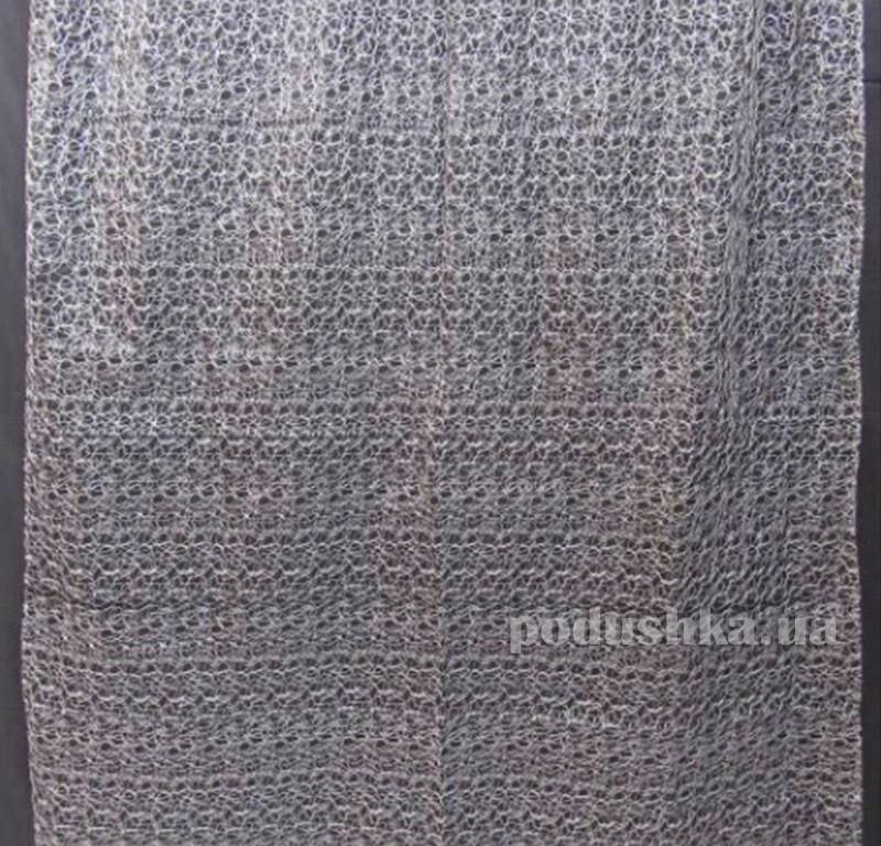Тюль Органза Arya 2700 с вышивкой Siyah