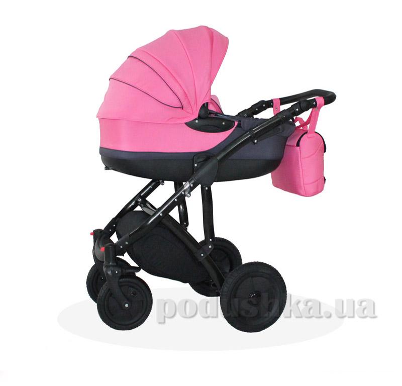 Универсальная коляска Androx Luna bn-083 розовая